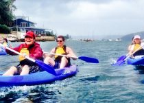 kayaking Sydney