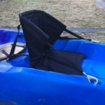 Comfortable back rests. Prevents lower back pain while paddling