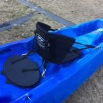 Back rests, easily clip in and out and adjustable. With water tight lid.